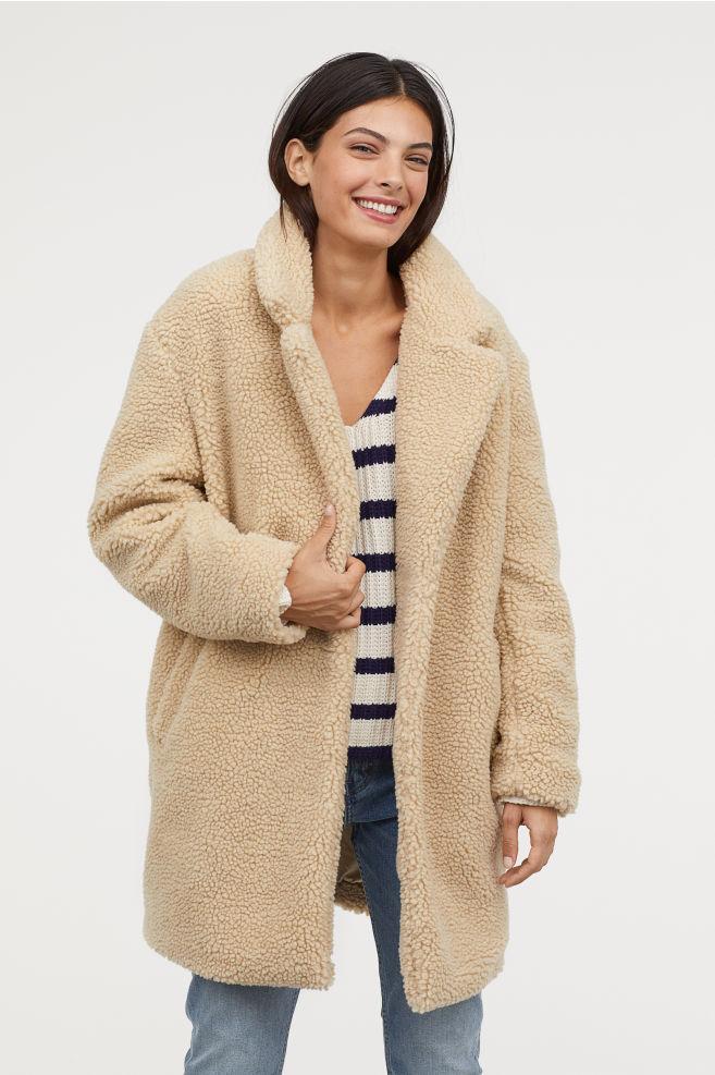 Short pile coat £59.99