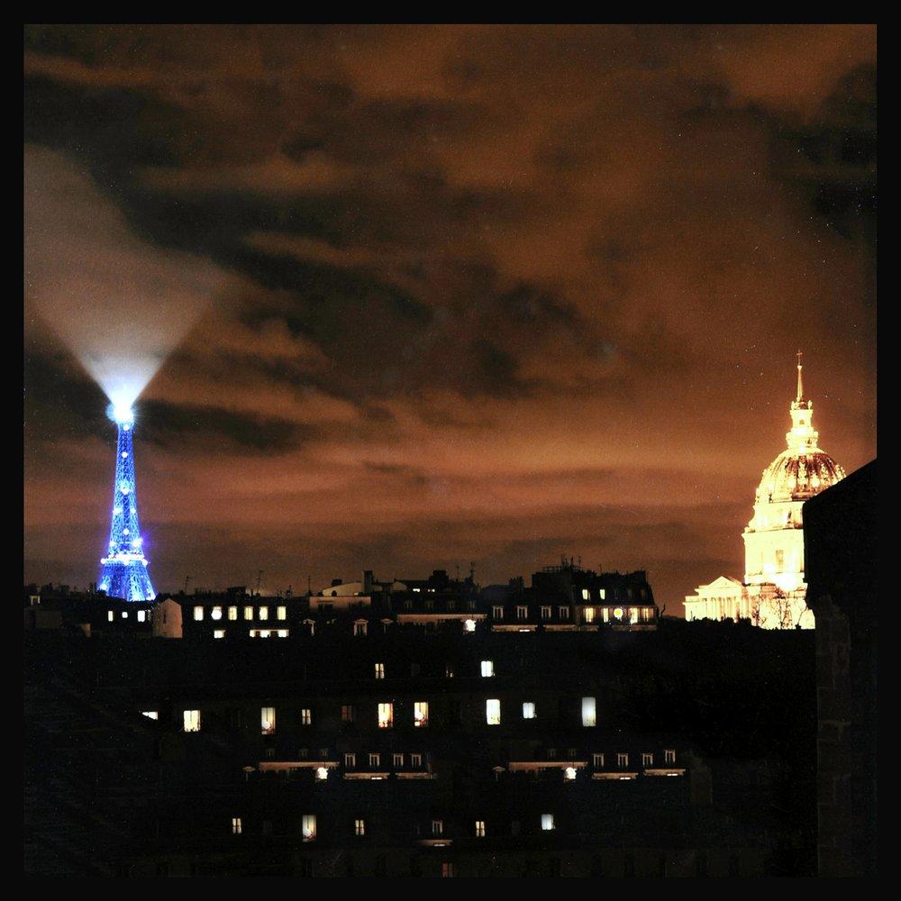tour Eiffel dôme des invalides