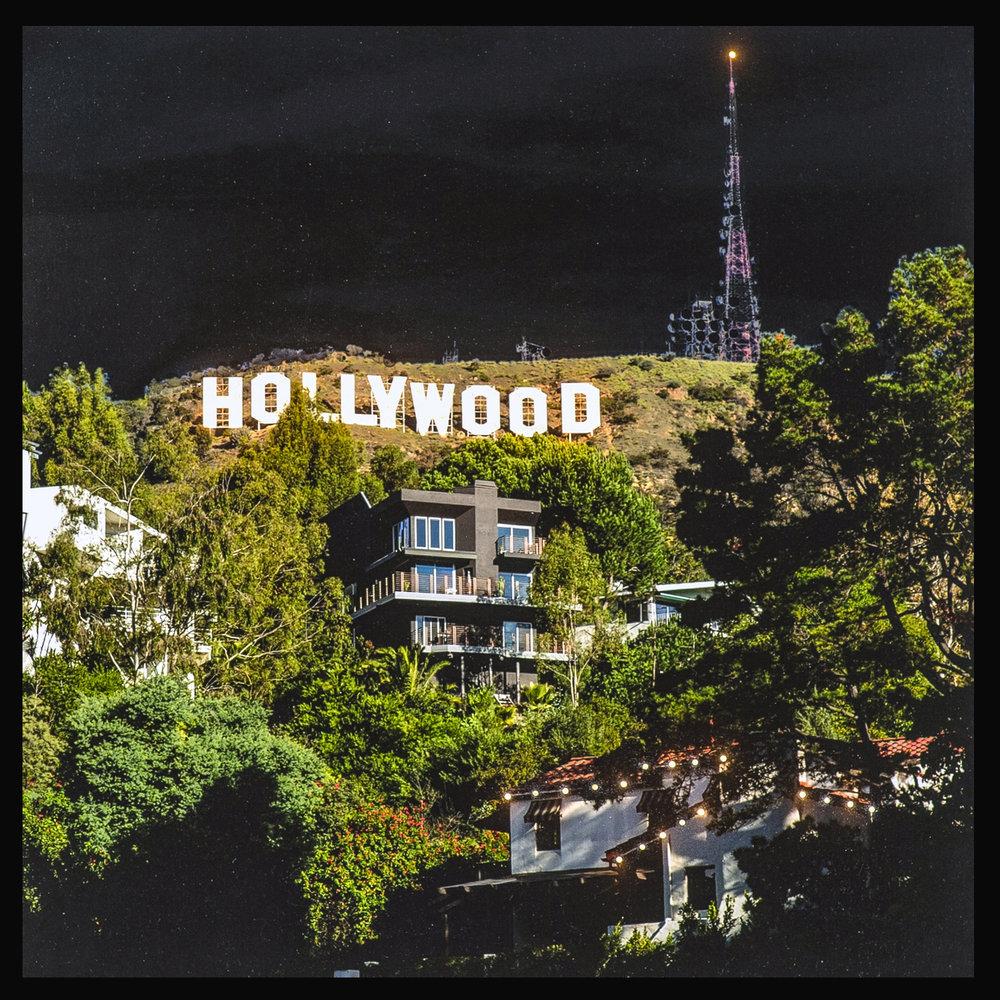 lettres hollywood