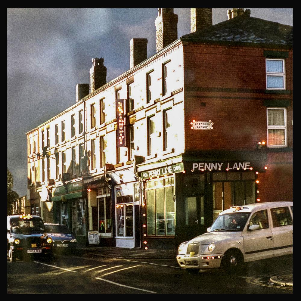 penny lane street Liverpool