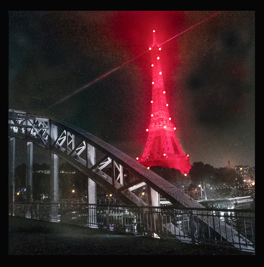 tour Eiffel passerelle debilly
