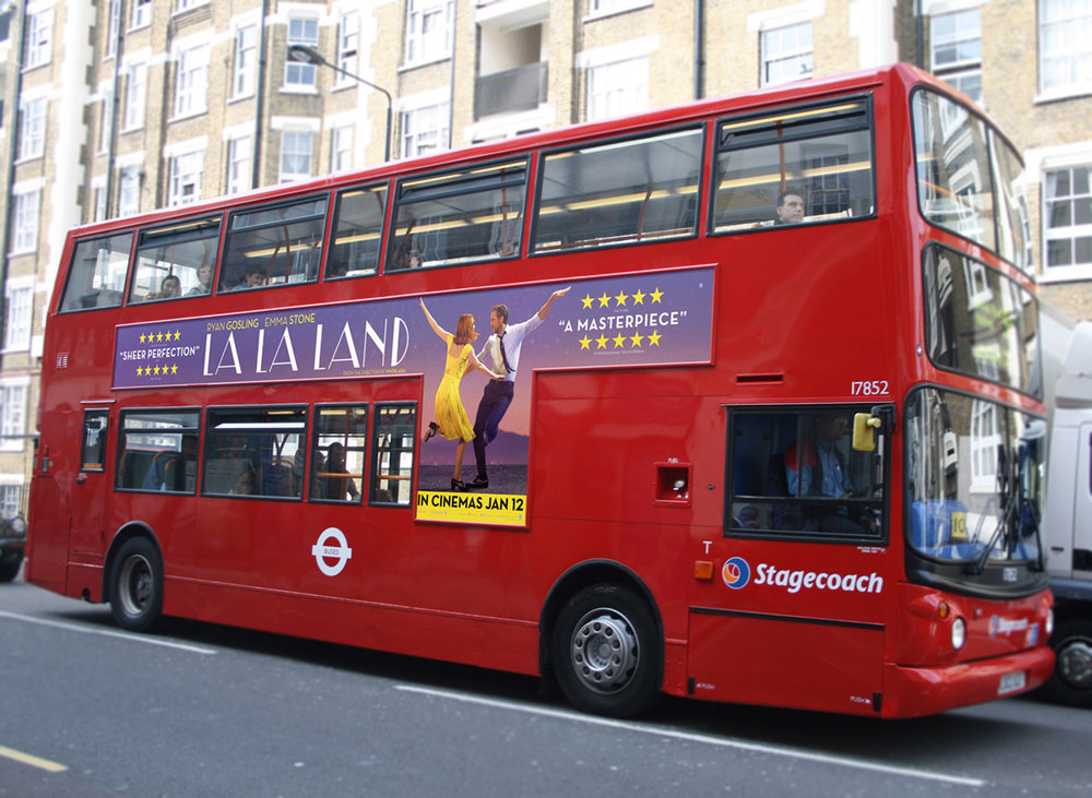 Bus sides / Outdoor / Print / Musical / Romantic drama / Lionsgate