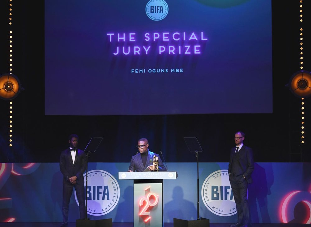 Branding / Stage / Print / Motion / Event / Awards  / BIFA