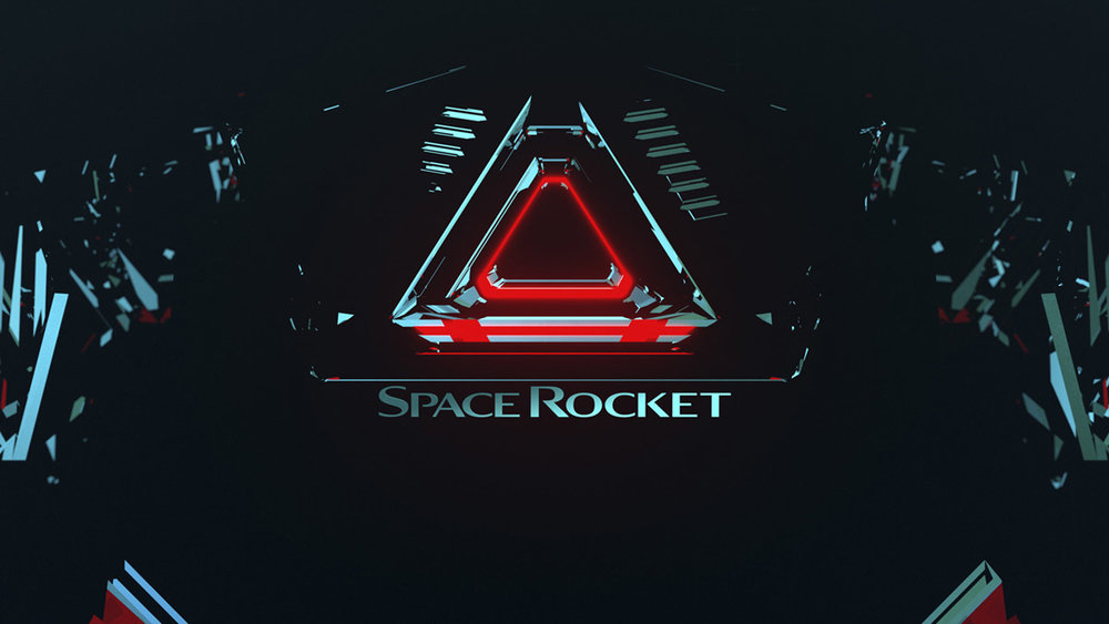 Ident / Motion / Branding / Space Rocket