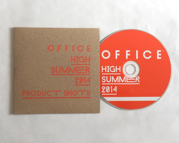 The gift card and CD wallet was also produced on kraft board, with foiling.
