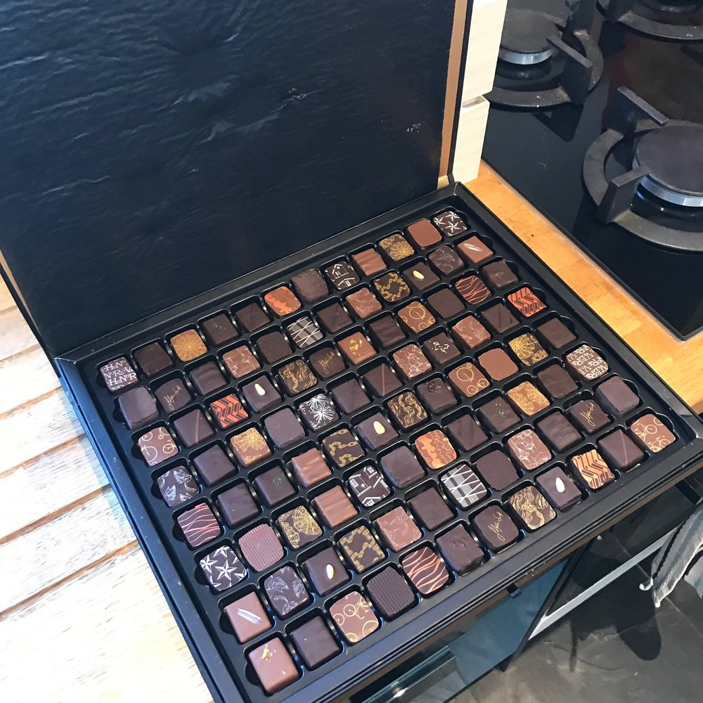 Our clients are a pleasure to work with! - Communication is key in our line of work, and most our clients are generally very on-top-of-it when it comes to paperwork and timescales. We can't express how much joy it brings us when a client is super organised! We also get wonderful gifts at Christmas time.This is the epic box of chocolates we received from Ed Sheeran's wonderful team!