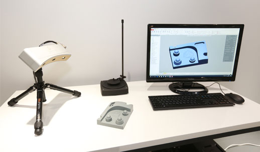 Desktop 3D Scanner  Comes with a computer with GemMagic Design X installed.