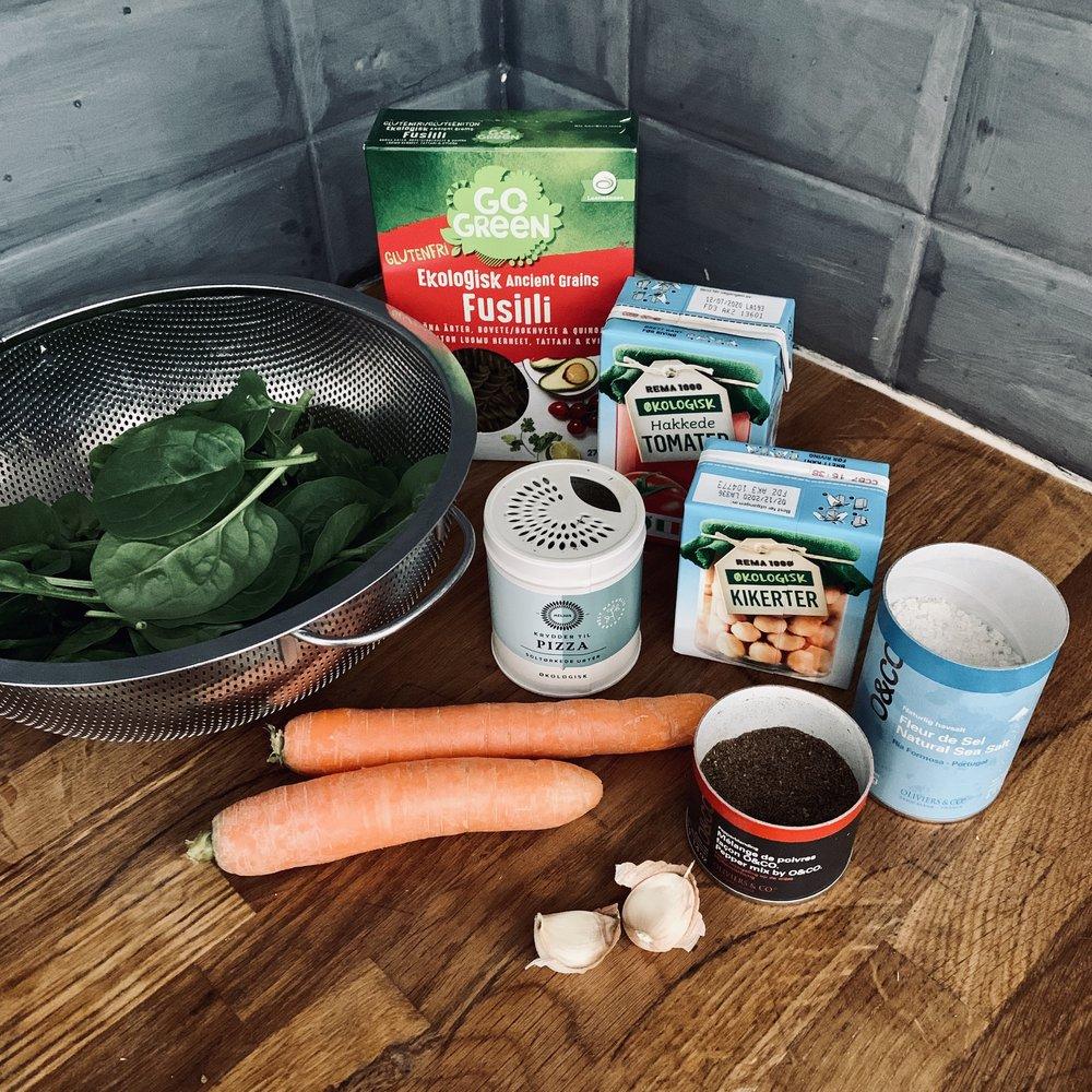 Enkle ingredienser som du finner i en hver matforretning, og som kokt sammen i noen få minutter blir helt gull!