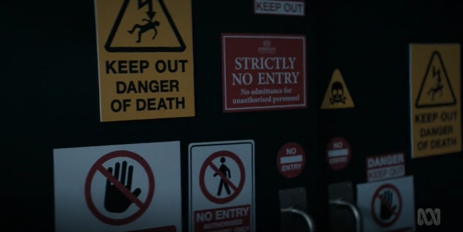 Really don't go in, though [ABC iView]