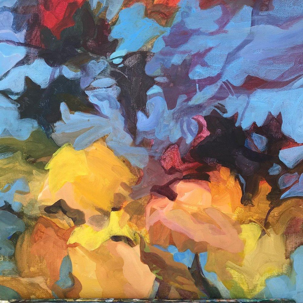 Floating Leaves, October