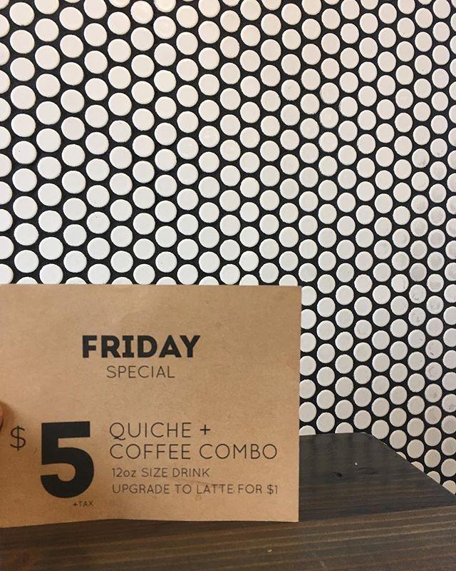 You bet. • • • • #espresso #coffee #americano #latte #butfirstcoffee #local #toronto #junctiontriangle #cafe #3rdwavecoffee #barista #coffeegram #instacoffee #wakeup #cortado #coffeeculture #neighborhoodcoffee #discovertoronto #mytoronto #torontocoffeecommunity #coffeeTO #blogto #propellercoffee #junctioncove #yyzcoffee #love #goodmorning #quiche #friday #fridaymood