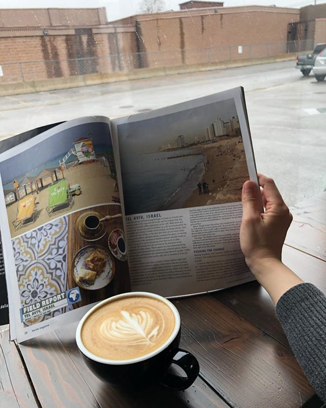 How do you enjoy a rainy day? I play chill music, read magazines, and drink coffee. . . . . . #espresso #coffee #americano #latte #butfirstcoffee #local #toronto #junctiontriangle #cafe #3rdwavecoffee #barista #coffeegram #instacoffee #wakeup #cortado #coffeeculture #neighborhoodcoffee #discovertoronto #mytoronto #torontocoffeecommunity #coffeeTO #blogto #propellercoffee #junctioncove #yyzcoffee #love