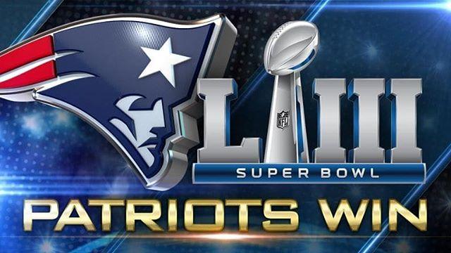 Congratulations New England Patriots !