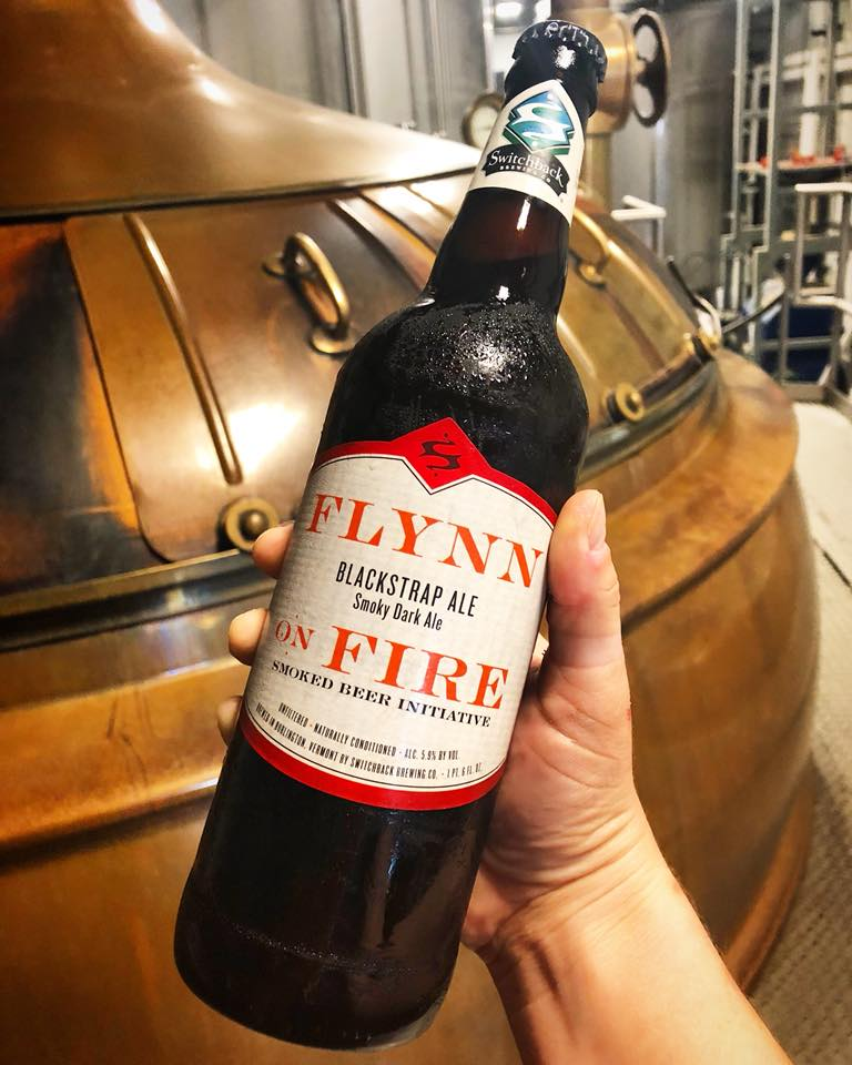 Switchback Brewing Company Flynn on Fire