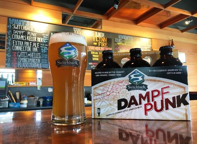 Switchback Brewing Company Dampf Punk