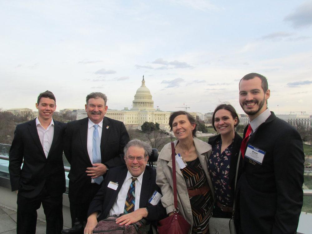 In D.C. in March to speak to Congressmen on Infrastructure