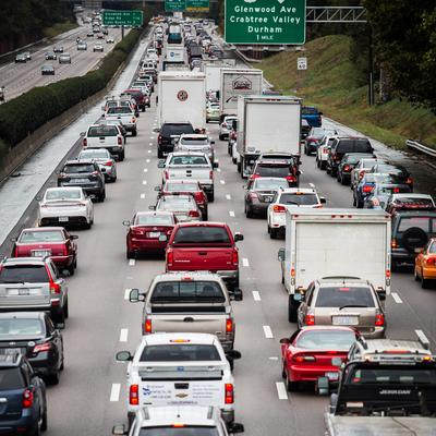 Traffic Congestion Along the Raleigh Beltline