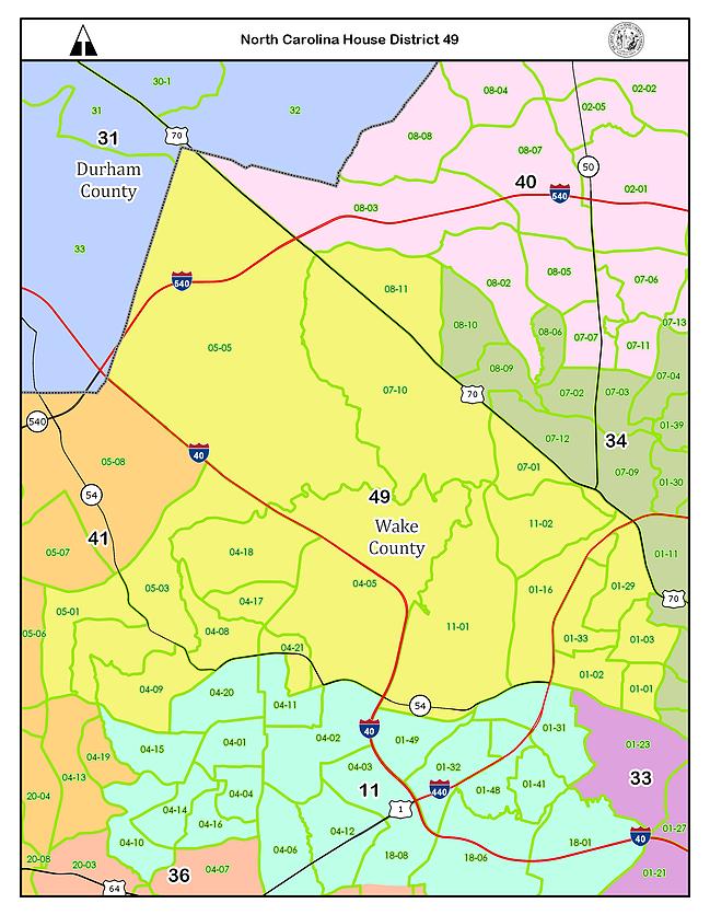 NC House District 49, USA