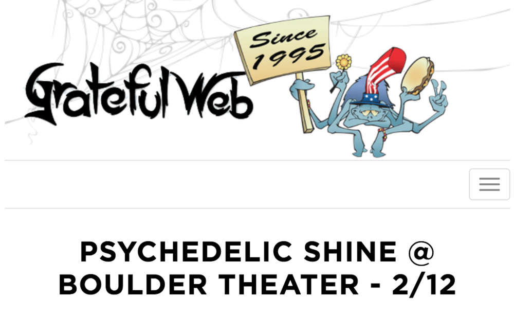 GratefulWeb.com - Medicinal MindfulnessandPsychedelic Club Present Psychedelic Shine with Dennis McKenna: a full day of psychedelic informed lectures, expert panels, live music, poetry, community vendors, a psychedelic art gallery and an evening Community Breathwork experience.