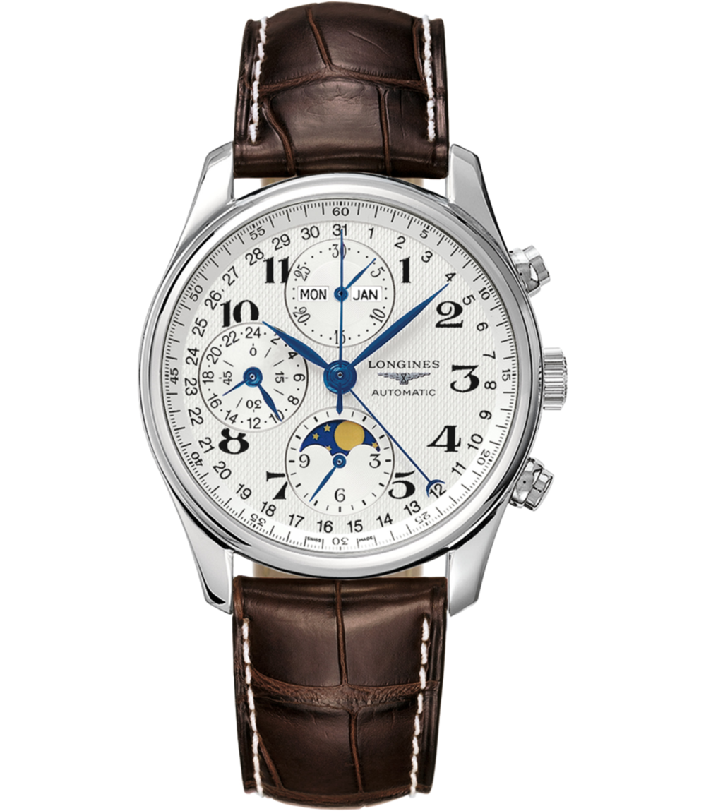 Longines Master Automatic - The most romantic complication of the watch world, the moon phase is a feature that never goes out of style. Gift this watch to the academia-bound English literature student. The Longines Master Collection, $3,325; troverie.com.