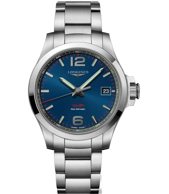 Longines Conquest V.H.P. - A sporty, wear-forever watch with a quartz movement, date functionality, and water resistance to 165 feet. This is our pick for the practical guy on the go who needs something off-duty appropriate.Longines Master Conquest V.H.P, $1,000; troverie.com