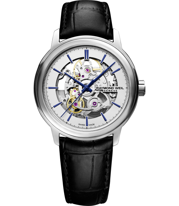 Raymond Weil Maestro Men's Automatic Skeleton - The stunning Maestro Automatic Skeleton looks at first glance like six figure investment – but this unique watch comes in at just under $2,000.Raymond Weil Maestro Men's Automatic Skeleton, $1,95; troverie.com.