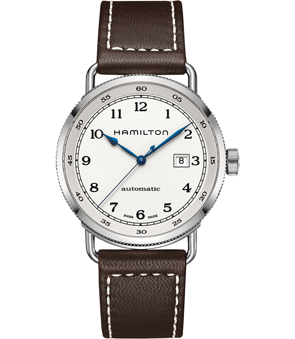 Hamilton Khaki Navy Pioneer Auto - Hamilton shines here at what it does best: well made, affordable, reliable watches imbued with a sense of classic Americana. This one is water resistant, and boasts a date indicator, automatic movement, and 80 hours of power reserve.Hamilton Navy Pioneer Auto, $995; troverie.com.