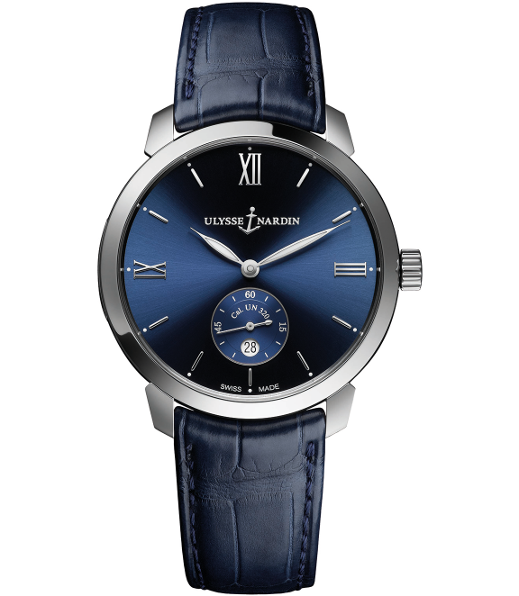 Ulysse Nardin Classic ClassicoThis finely enameled dial, dubbed 'Grand Feu,' was arguably a forerunner of many of the new models at SIHH 2019 featuring the same technique. The model is powered by a self-winding UN-320 caliber, a movement entirely designed and produced in-house by the Swiss manufacture. - $7,500; troverie.com