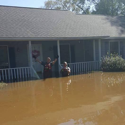 """""""Just because you have homeowner's insurance doesn't mean flooding is covered."""" - Roger Dail, DirectorLenoir County Emergency Services"""
