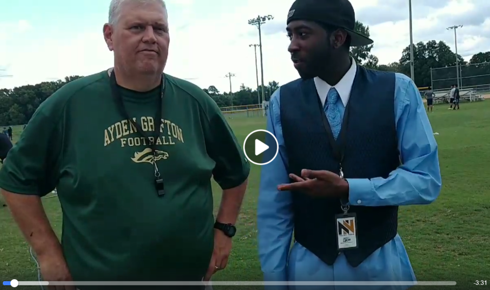 VIDEO: Ayden-Grifton football coach Paul Cornwell takes some time to talk to Junious Smith III about the Chargers' expectations as the team goes for an 18th straight playoff appearance.