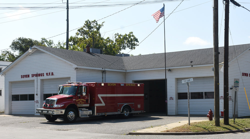 The old SSVFD building on Main Street. Photo by Linda Whittington / Neuse News