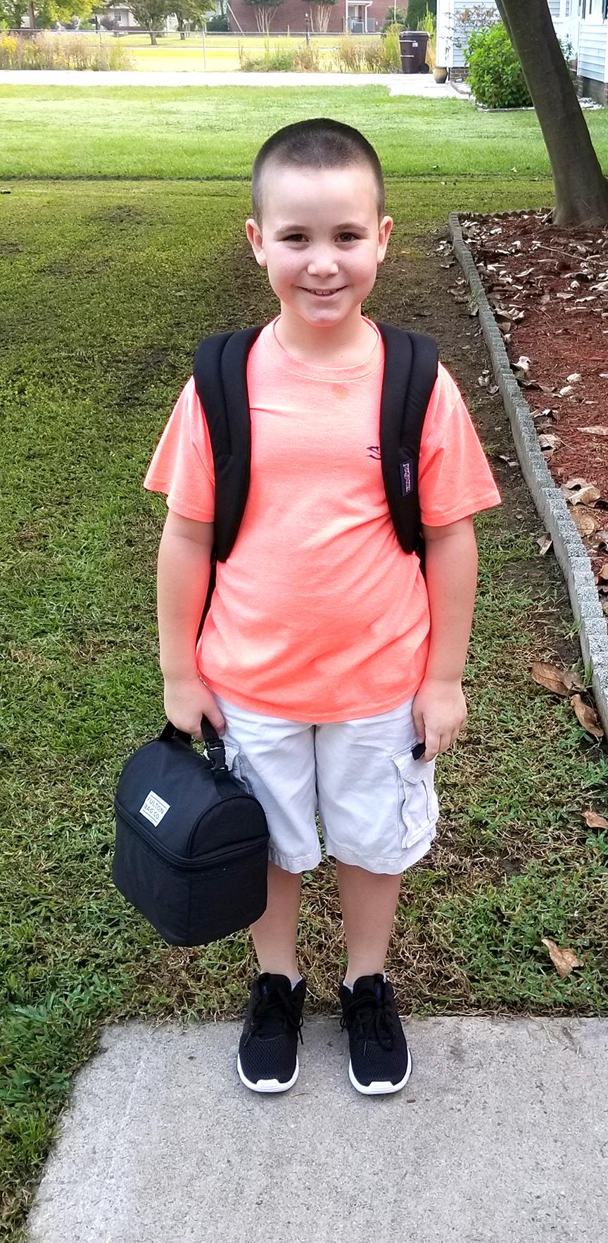 Ricky Brown, third grade, Contentnea-Savannah K-8 School