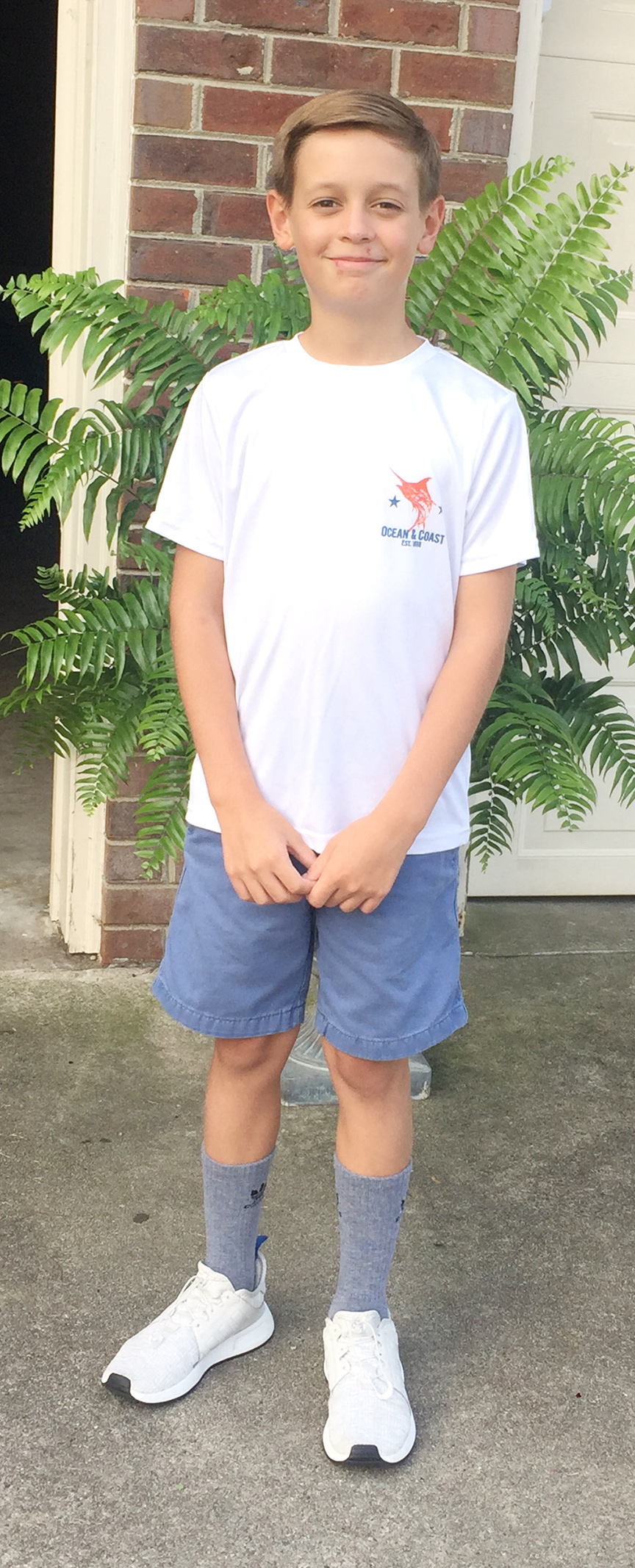 Corbin Jackson, seventh grade, Contentnea-Savannah K-8 School