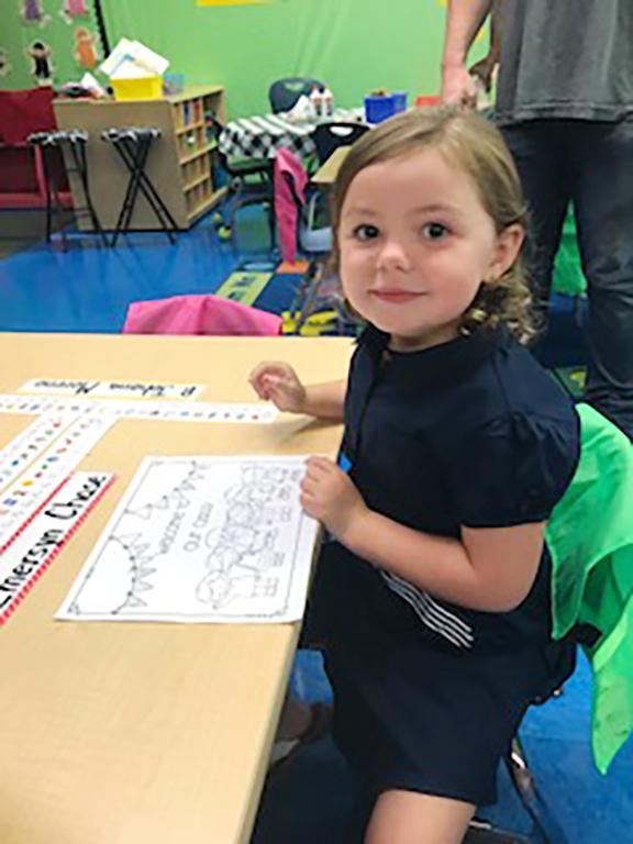 Emersyn Chase, kindergarten, Banks Elementary School