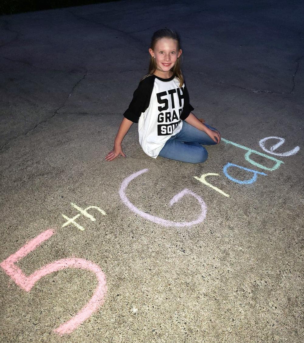 Gracyn Murphy, fifth grade, Banks Elementary