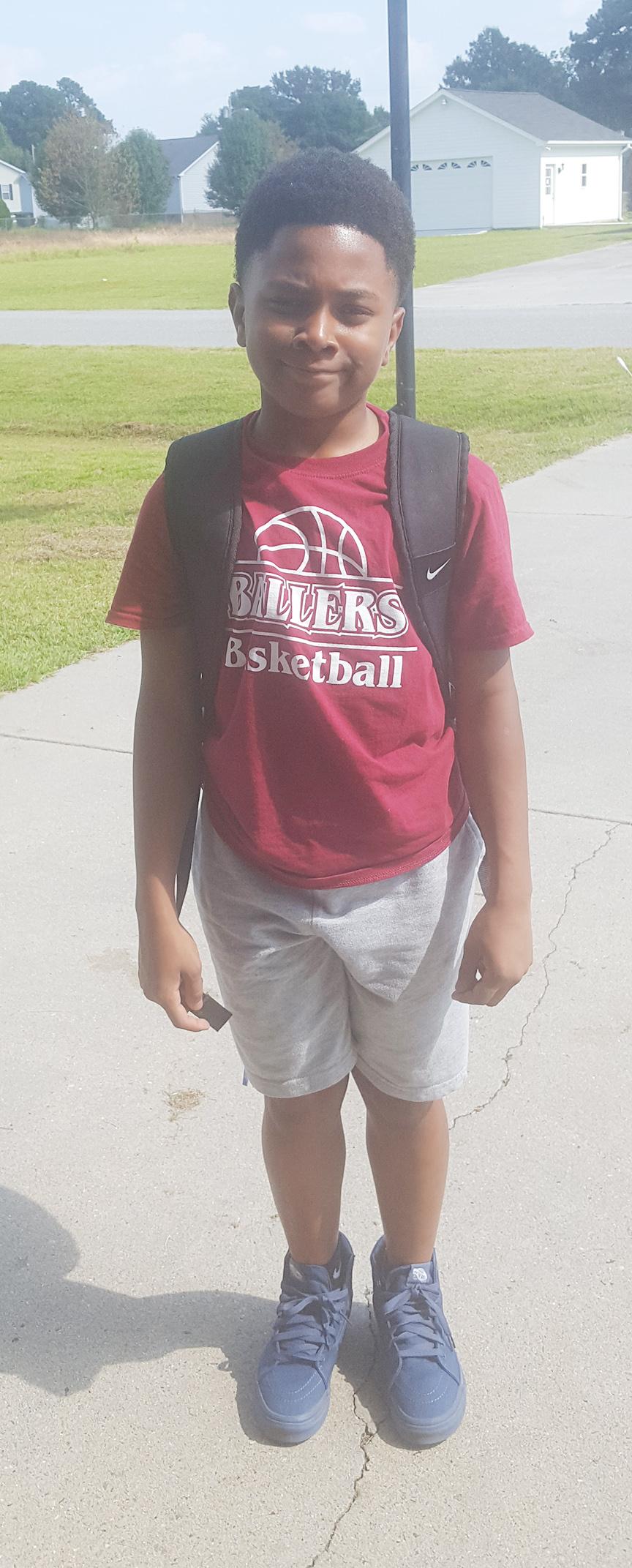 Braxton Loftin-Myers, fifth grade, La Grange Elementary School