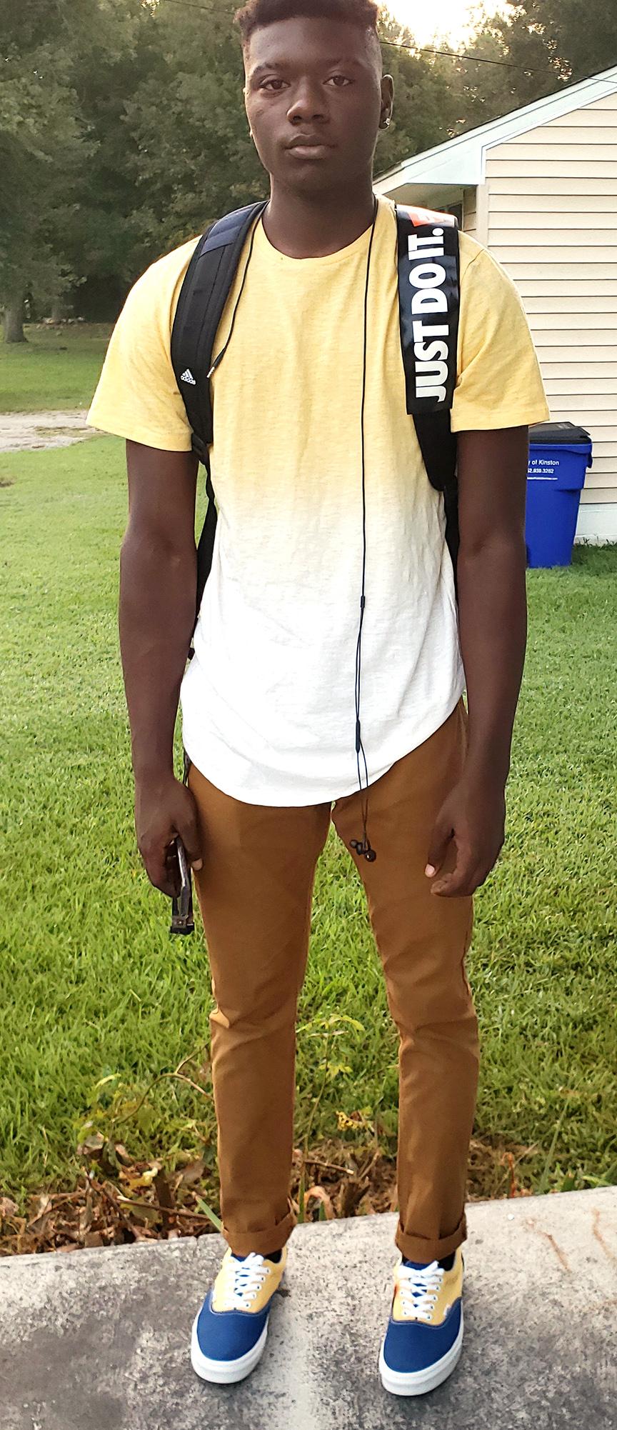 Kamari Williams, senior, Kinston High School