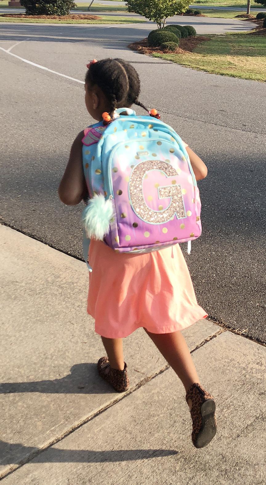 Viya Elizabeth Gooding, first grade, Banks Elementary School