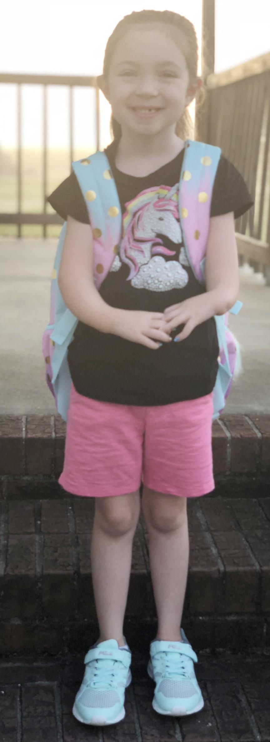 Libby Jo Kornegay, first grade, Pink Hill Elementary School