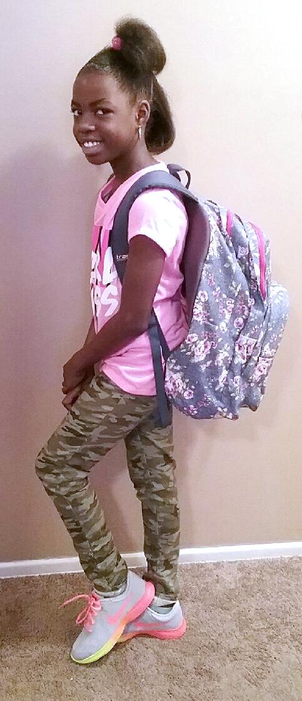 Danasia Hardy, fourth grade, Northwest Elementary School