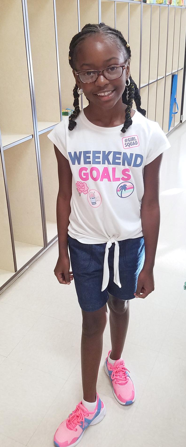 Merrisa Kee, third grade, Contentnea-Savannah K-8 Scool