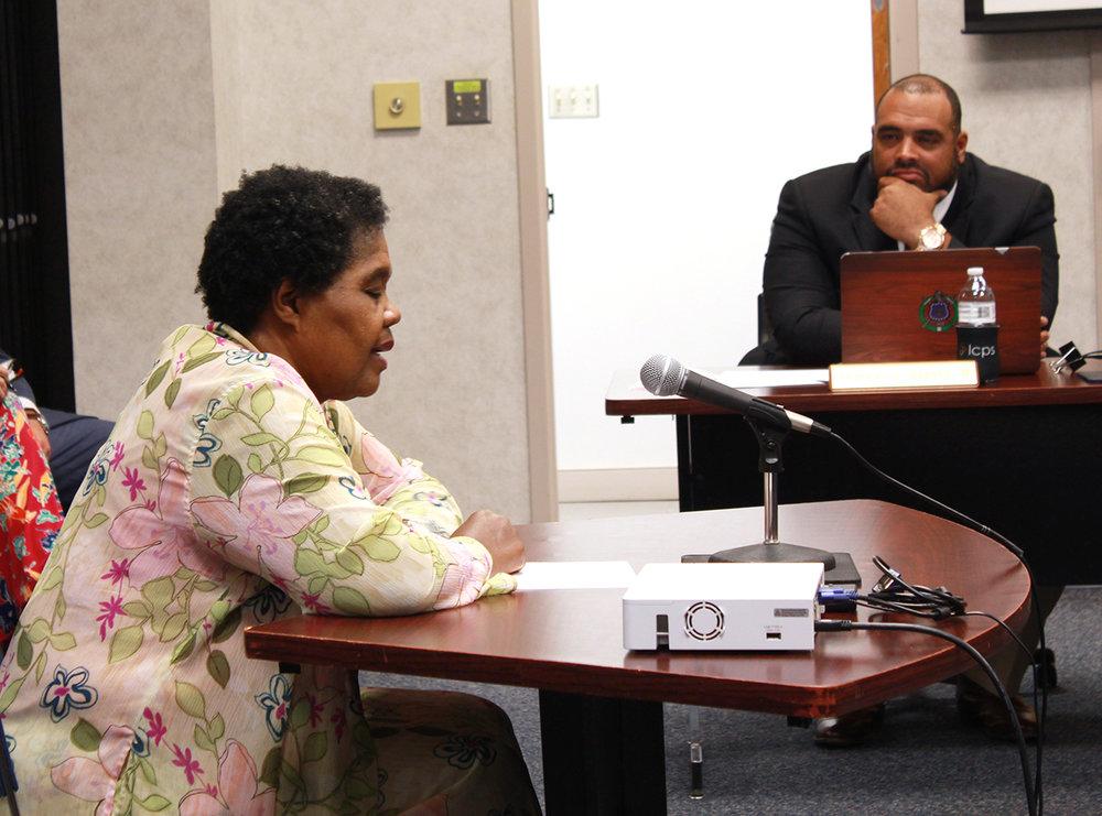Annette Hawkins. Photo by Linda Whittington / Neuse News