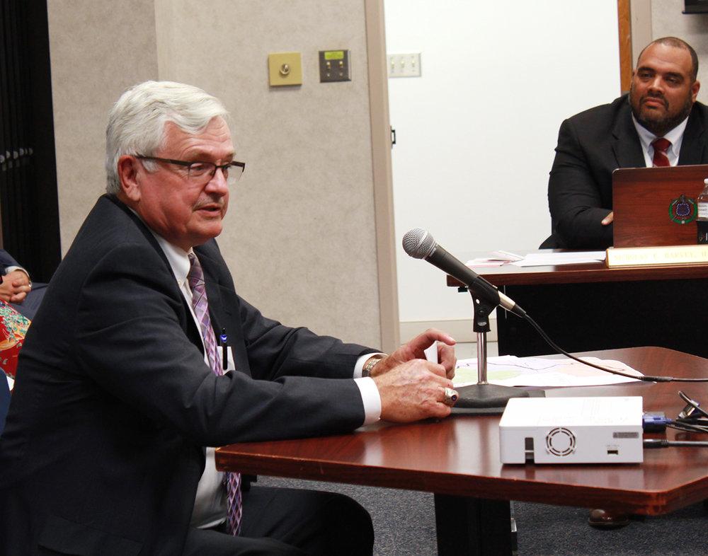 Dean Sauls. Photo by Linda Whittington / Neuse News