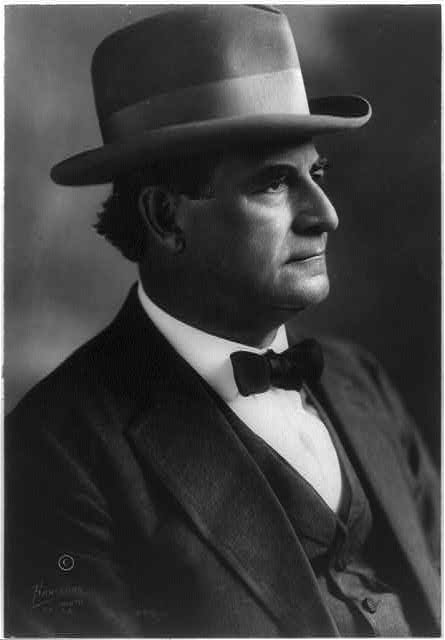 William Jennings Bryan Former United States Secretary of State