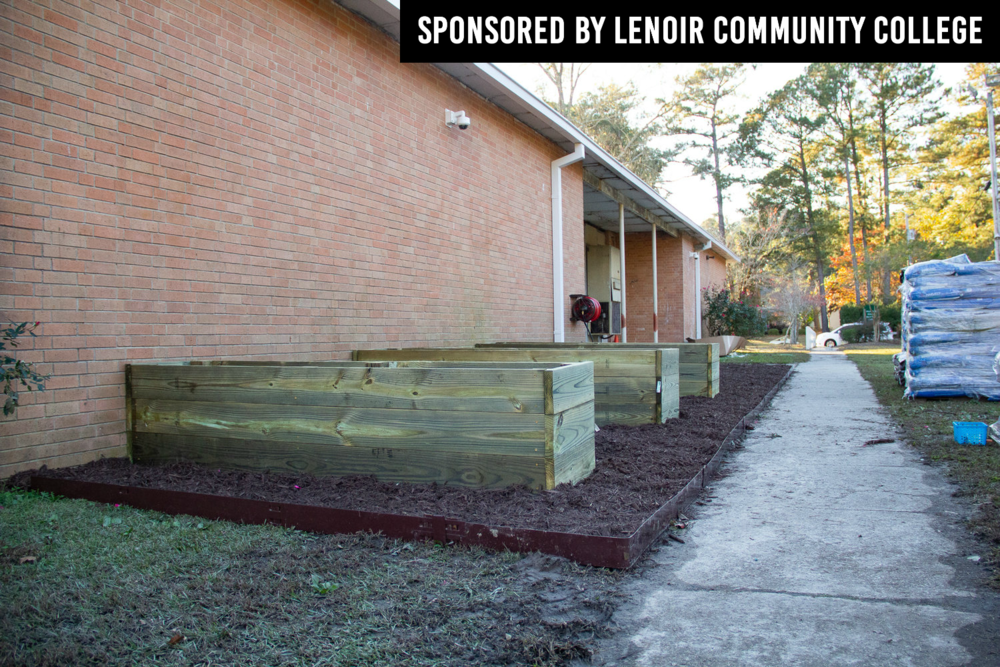 Northwest Elementary Receives Raised Bed Gardens From Lowes Neuse