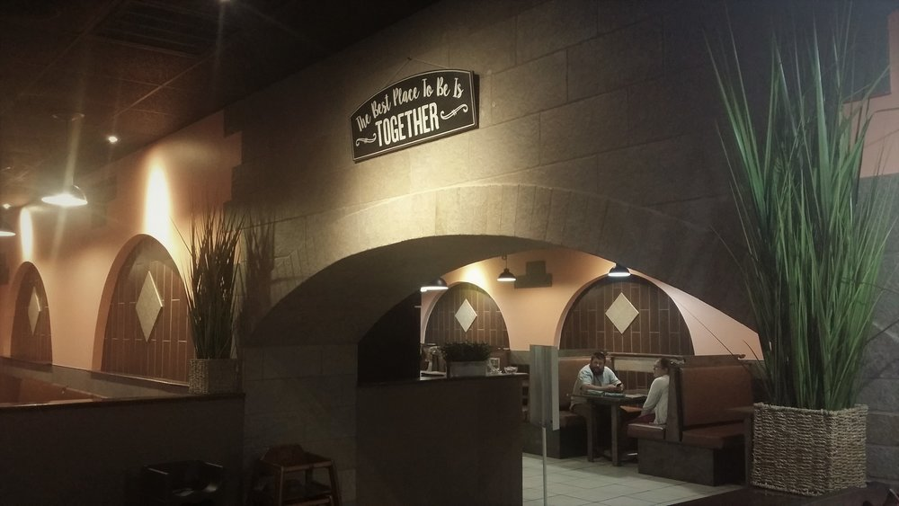 An interior view of Dos Marias Grill & Cantina