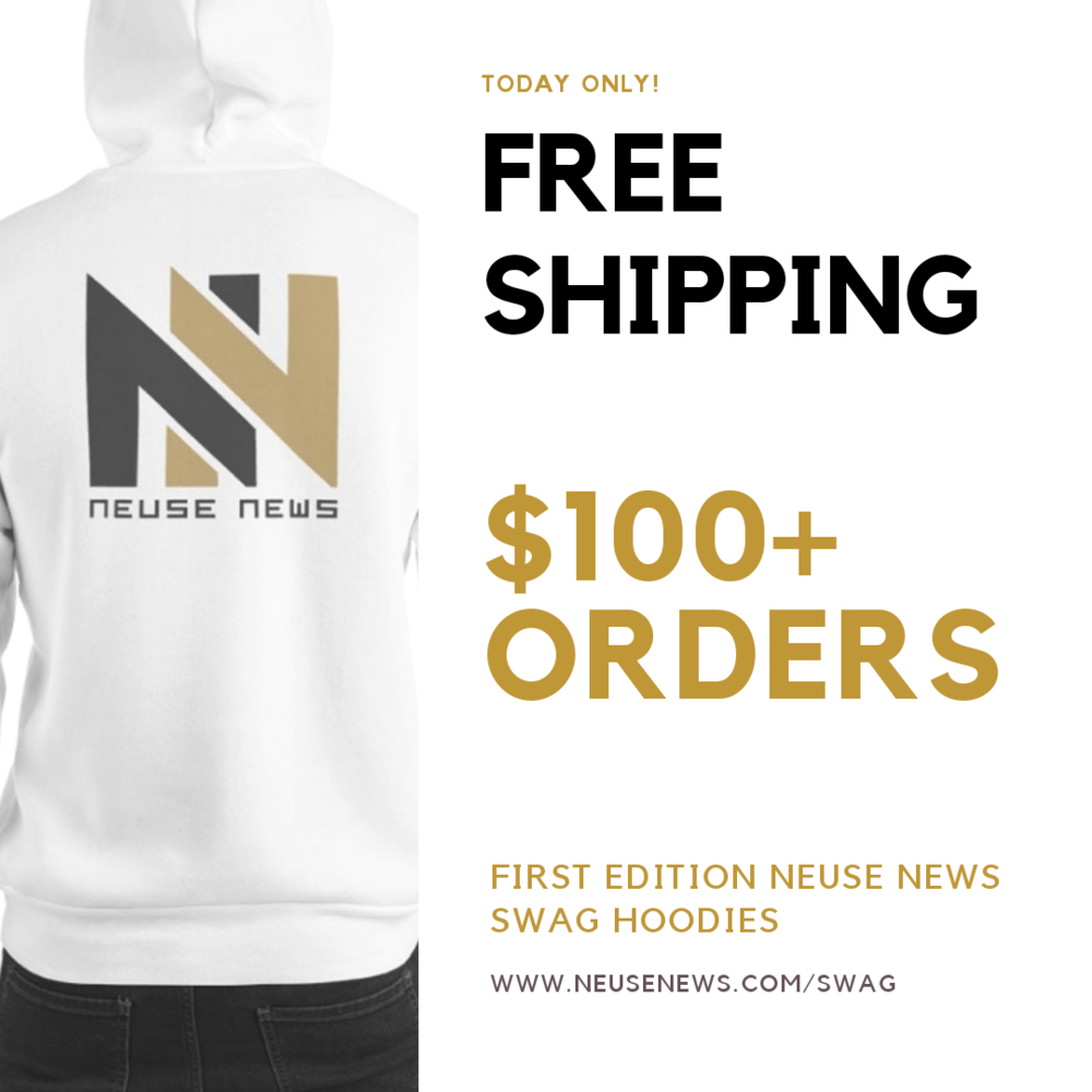 *Only for Wednesday, November 28th until 11:59 p.m. at  www.neusenews.com/swag