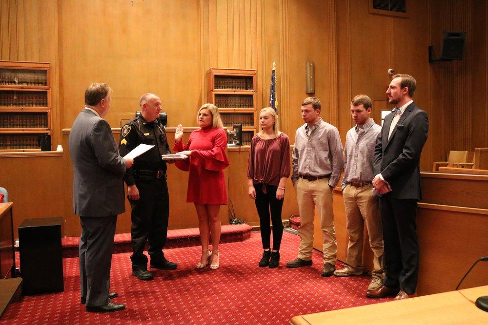 Stroud sworn in as Lenoir County Clerk of Court