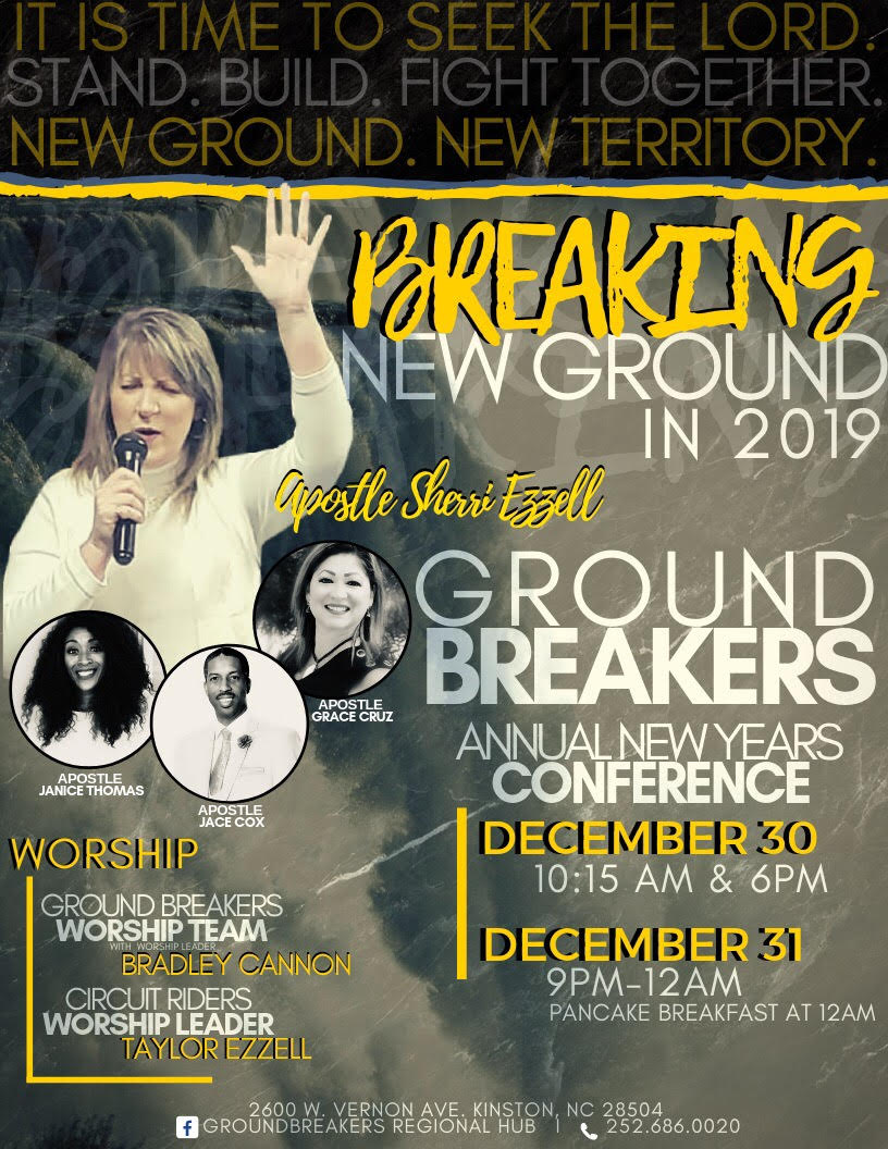 Event: Breaking new ground New Year's conference — Neuse News