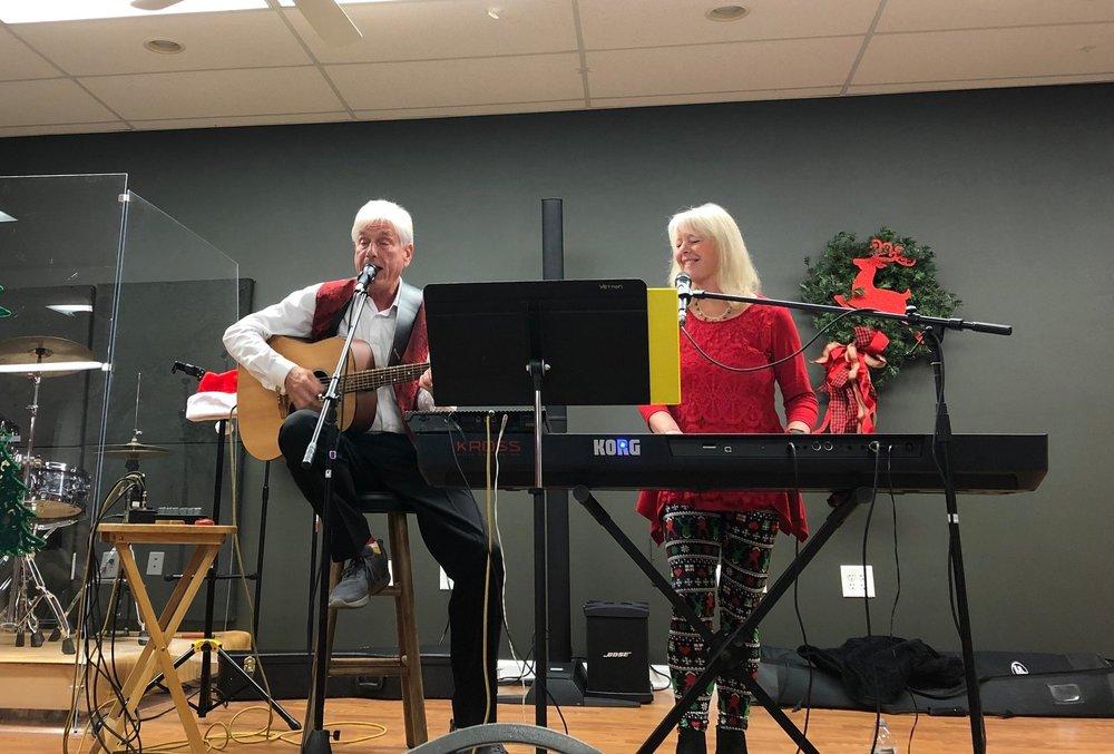 Rick and Jane Vernon photo by Catherine Hardee/Neuse News